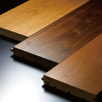 天然無垢の床材
