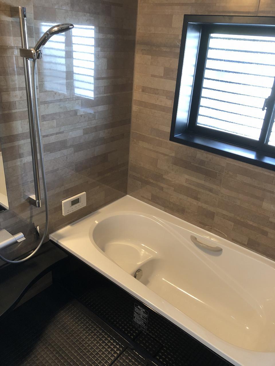 【リフォーム事例】サイズダウンで快適な浴室に~柳井市柳井